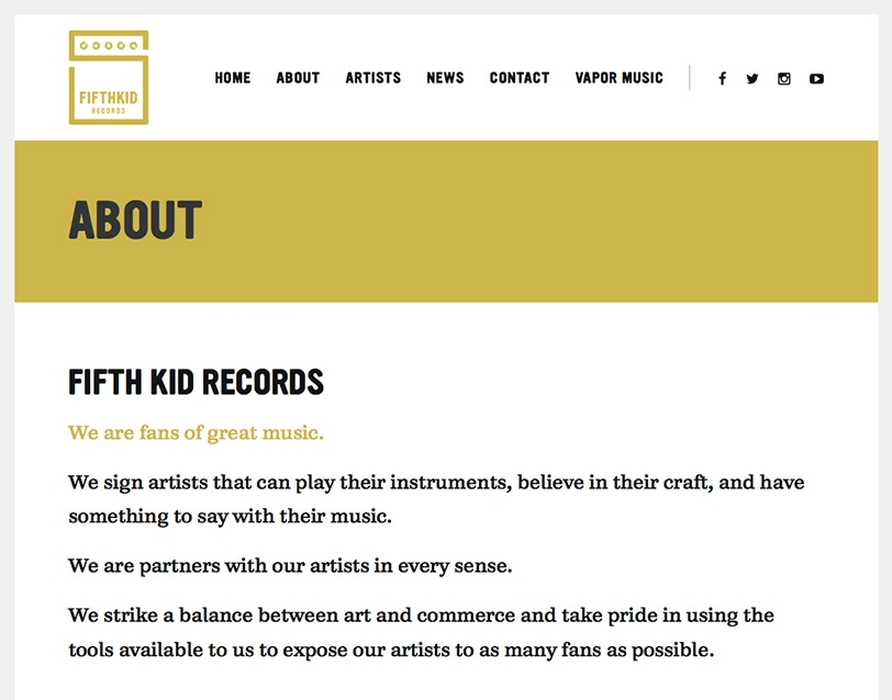 Fifth Kid Records