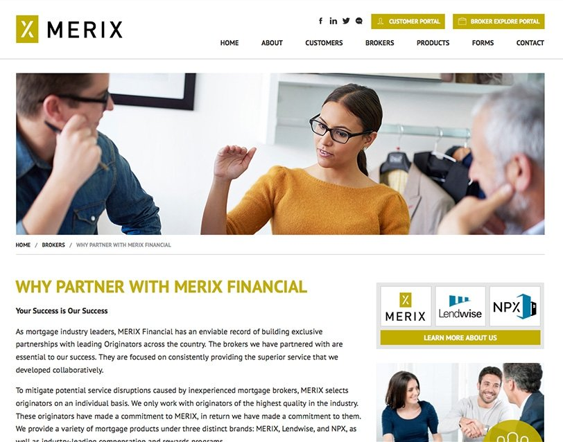 Merix Financial