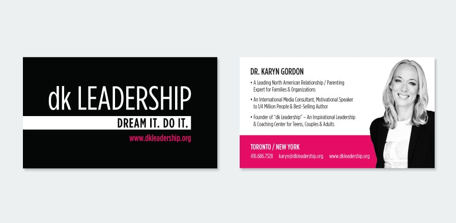Business card design mouth media karyn colourmoves